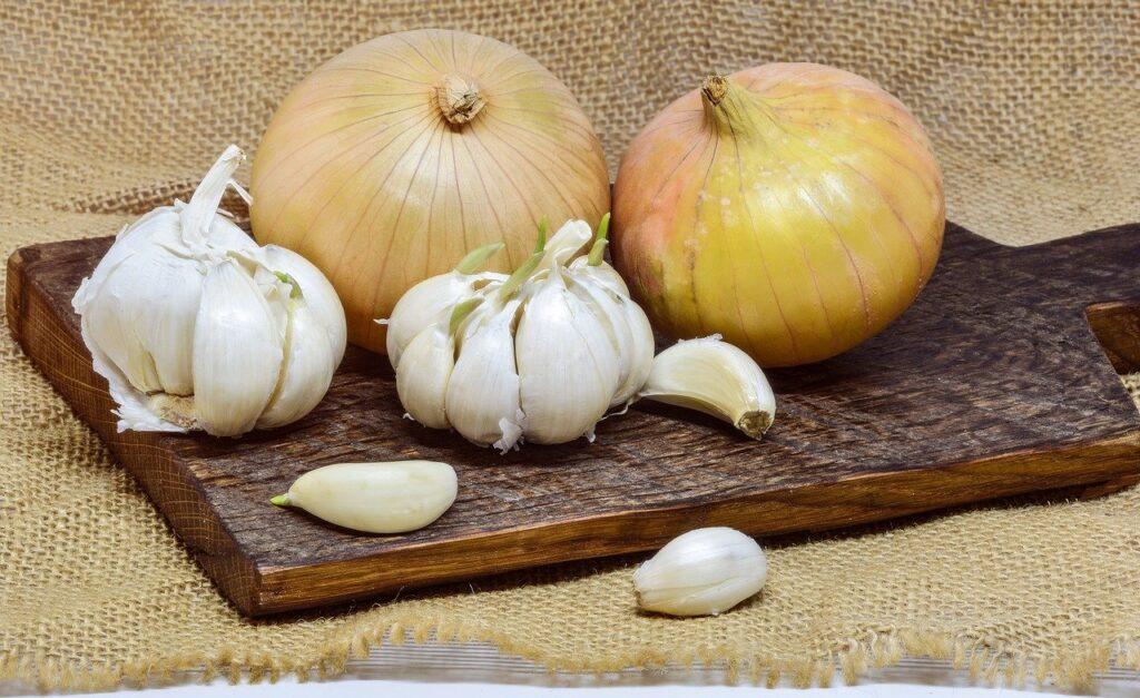 Cibule a česnek jsou skvělými pomocníky při zánětu močových cest